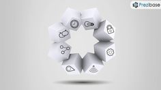 Boxed ideas creative cubes 3d circle prezi template for presentations
