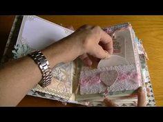 ▶ Shabby Chic Baby Mini Album 11- 14 -13 - YouTube