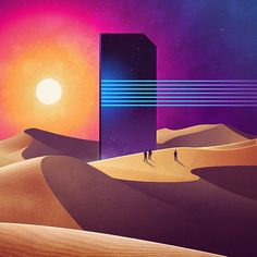 """James White on Twitter: """"Cenotaph… potential piece for the #NeoWave series. https://t.co/DizZINJOhh"""""""