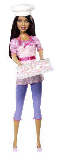 Barbie Careers Cookie Chef African-American Fashion Doll Barbie http://www.amazon.com/dp/B00G986RCW/ref=cm_sw_r_pi_dp_AFsBub08AMDSR
