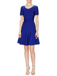 Short Sleeve Fit & Flare Dress from Dresses Under $100 on Gilt