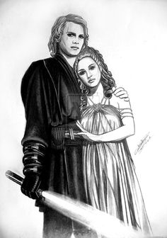 Lord and lady Vader by acrosstars22.deviantart.com on @deviantART