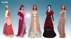 Female Historical Clothes Pack 2  [#ts4_adult_fullbody]
