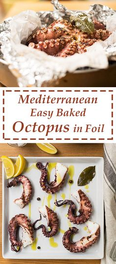 This is probably the easiest way to prepare octopus! Don't be afraid of octopus anymore! Tender and full of aroma, it's the perfect side dish for a seafood dinner.