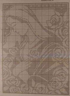 Filet Crochet, Crochet Patterns Filet, Crochet Stitches, Cross Stitch Patterns, Crochet Tablecloth, Crochet Doilies, Crochet Lace, Denim Bag Patterns, Lace Patterns