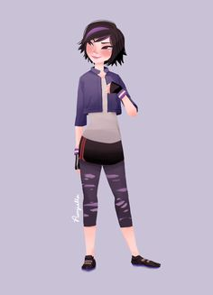 GoGo Tomago by Punziella. I love her art!