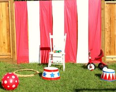 Vintage Circus Birthday Party | So Much Better With Age