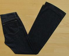"J Brand Jeans 26 Boot cut Dark Bailey Pure Indigo Low rise Stretch Denim 33"" #JBrand #BootCut #Bailey"