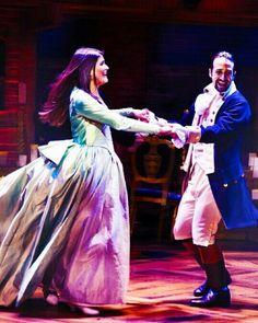 """Look into your eyes, and the sky's the limit"" - Hamilton on Broadway Cast Of Hamilton, Hamilton Broadway, Hamilton Musical, Theatre Geek, Musical Theatre, Broadway Theatre, Pippa Soo, Eliza Schuyler, Saga"