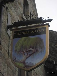 Wandering Photos - The Willow Tree - Riddlesden West Yorkshire England