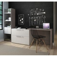 8 White Home Office Desks That You'll Love