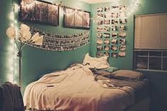 This will be what my new room will look like when we move (: Tumblr Bedroom, Tumblr Rooms, Awesome Bedrooms, Cool Rooms, Beautiful Bedrooms, Small Rooms, Dream Rooms, Dream Bedroom, Room Decor For Teen Girls