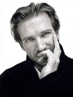 Ralph Fiennes...I have loved him since I saw Wuthering Heights a long, long time ago!