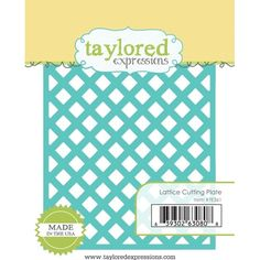 Taylored Expressions LATTICE Cutting Plate Die TE361 /1.5