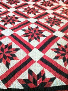 'Red & Black Quilt'