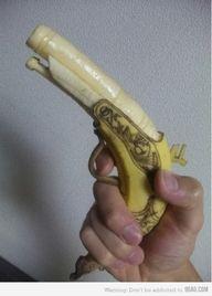 Banana Art: BANANA GUN
