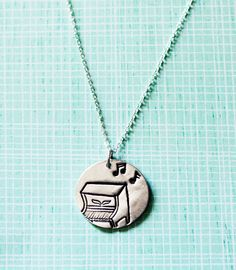 PIANO NECKLACE music jewelry by boygirlparty, $47.50