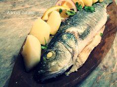Sea bass baked in salt Scallop Recipes, Sea Bass, Scallops, Fresh Rolls, Seafood Recipes, Main Dishes, Salt, Yummy Food, Fish