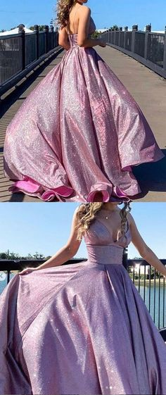lilac prom dress vp7668 by VestidosProm, $157.68 USD Lilac Prom Dresses, Glitter Prom Dresses, Best Prom Dresses, Formal Gowns, Perfect Fit, Fashion Dresses, Lace Up, Dress Long, Spaghetti Straps