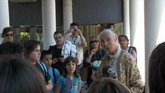 El Cuarto Hocico en Barcelona. Charla de Jane Goodall. Palabras cuartohociqueras al mundo