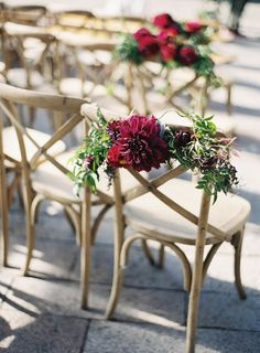 2015 Color of the Year: How to Pull Off a Marsala Colored Wedding - MODwedding