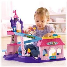 Fisher-Price Little People Disney Princess Klip Klop Stable Play Set (Walmart) Toys For Girls, Kids Toys, Baby Girls, Disney Princess Set, Princess Songs, Princess Tower, Real Princess, Princess Castle, Princess Party