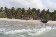 Plage de Grand Bassam en Côte D'Ivoire en Afrique de L'Ouest