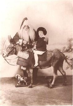 Creepy and Scary Santa Claus From Past