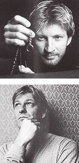 David Wenham (Faramir) and Sean Bean (Boromir) with the One Ring. So much epicness!  :D  Nice too of having a shot of the sons of Denethor....