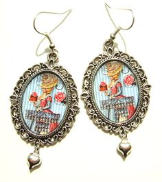 Let them Eat Cake Earrings Marie Antoinette