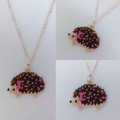 Miyuki Kirpi Kolye Thanks to @lili_azalee for pattern. #miyuki #bead #beads #miyukinecklace #necklace #miyukikolye #kolye #boncuk #miyukitakitasarim #takitasarim #takıtasarım #jewelery #jewellery #jewelerydesign #jewellerydesign #super #süper #supertakilar #süpertakılar #harikatakılar #elyapimi #elyapımı #handmade #elegance #şık #hedgehog #hedgehogs #kirpi #takı #taki