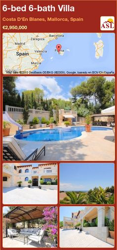 Villa for Sale in Costa D'En Blanes, Mallorca, Spain with 6 bedrooms, 6 bathrooms - A Spanish Life Murcia, Valencia, Costa, Barcelona, Office Lounge, Bedroom With Ensuite, Large Bathrooms, Summer Kitchen, Water Slides