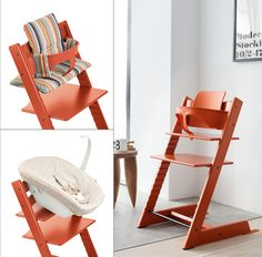 Stokke Tripp Trapp In Lava U2013 The Perfect Color For