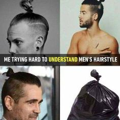 Can someone explain this trend to me?  Follow @9gag for more funny memes.  #9gag  #men #fashion #hairstyle