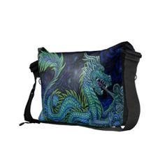 Purchase your next Fantasy messenger bag from Zazzle. Choose one of our great designs and order your messenger bag today! Pack Your Bags, My Bags, My Style Bags, Unique Purses, Chinese Dragon, Pet Carriers, Holsters, Messenger Bags, Clothes Horse