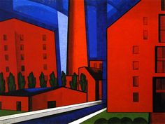 Walls of New England (Oscar Bluemner - No dates listed)