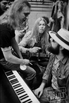 Butch Trucks, Gregg Allman and Chuck Leavell                                                                                                                                                                                 More