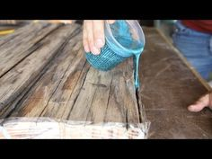 This week I show you how to build a DIY farmhouse dining table using reclaimed b. This week I show you how to build a DIY farmhouse dining table using reclaimed barn wood lumber, featuring epoxy inlays. Epoxy Wood Table, Diy Farmhouse Table, Barnwood Dining Table, Farmhouse Style, Dining Tables, Wood Lumber, Bois Diy, Diy Epoxy, Reclaimed Barn Wood