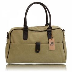 This bag made out of canvas material in khaki, has a unique design that creates an eye-catching visual effect which you can use as a handle bag or a messenger bag. Bag Making, Making Out, Cool Things To Buy, Stuff To Buy, Canvas Material, Messenger Bag, Shoulder Bag, Cool Stuff, Handle
