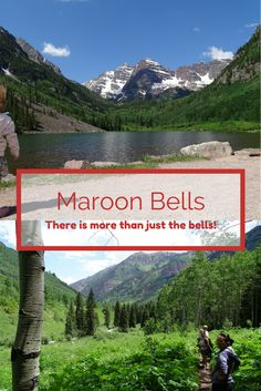 Maroon Bells is stunning in Aspen, Colorado. Don't forget about the beautiful hikes that surround it with their gorgeous views! Click here to see more and read about our amazing time.