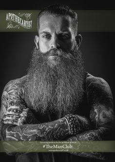 Apothecary87 Screen saver, #TheManClub Beard, Beard Oil, Tattoos, Men with Beards, Man with Beard, Facial hair, Moustache, Mens grooming, Jake Hurn, @JakeHurn, Liam Oakes Photo