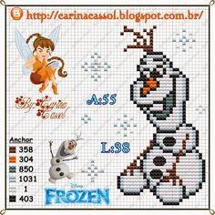 Ponto Cruz da Samsara: Gráficos Frozen!