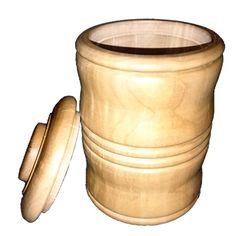 toczenie w drewnie  Pudełko z wykonane z gruszy
