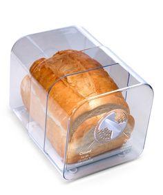White Adjustable Bread Keeper
