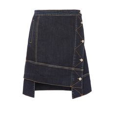 VIVIENNE WESTWOOD Dodo Skirt Blue Denim. #viviennewestwood #cloth #