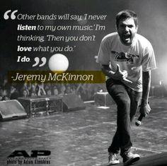 Jeremy Mckinnon Tattoos
