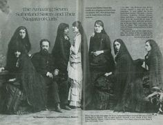 The Seven Sutherland Sisters and Their 36½, Feet of Hair