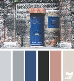 Design seeds - paletas de cores inspiradas em fotografias tiradas da natureza;