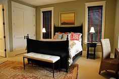 Lane Myers Construction Custom Home Builder Love the craftsman door- so simple yet beautiful. Love the window casings