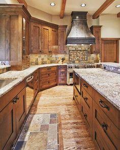 Ummm this kitchen!??????? Yes please!!!!!! by mrs.melanie_hatfield